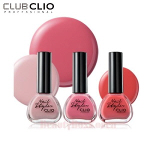 CLIO Nail Styler 13ml [Pink Week]